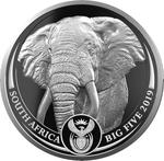 South Africa / Silver Ounce 2019 Big Five - Elephant - obverse photo