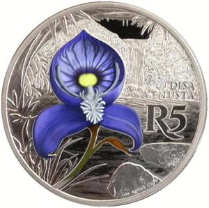South Africa / Silver Ounce 2016 Disa - reverse photo