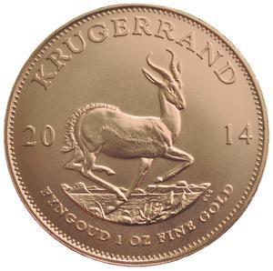 South Africa / Gold Ounce 2014 Krugerrand - reverse photo