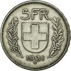 Switzerland / Five Francs 1931 - reverse photo