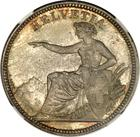 Switzerland / Five Francs 1873 - obverse photo