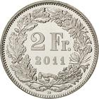 Switzerland / Two Francs 2011 - reverse photo