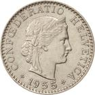 Switzerland / Twenty Centimes (Rappen) 1955 - obverse photo