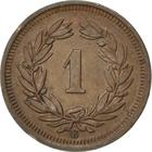 Switzerland / One Centime (Rappen) 1940 - reverse photo