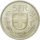 Switzerland / Five Francs 1967 - reverse photo