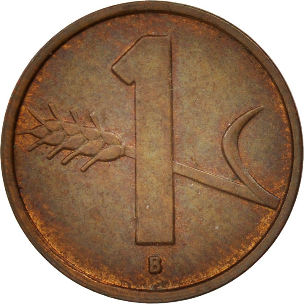 One Centime (Rappen) 1954: Photo Coin, Switzerland, Rappen 1954