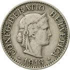 Switzerland / Ten Centimes (Rappen) 1913 - obverse photo