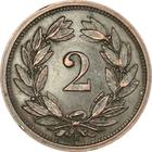Switzerland / Two Centimes (Rappen) 1926 - reverse photo