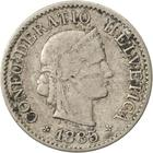 Switzerland / Five Centimes (Rappen) 1885 - obverse photo