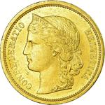 Switzerland / Twenty Francs 1883 - obverse photo
