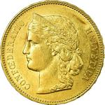 Switzerland / Twenty Francs 1895 - obverse photo