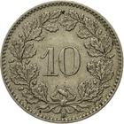 Switzerland / Ten Centimes (Rappen) 1928 - reverse photo