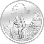 Switzerland / Twenty Francs 2019 Moon Landing / Brilliant Uncirculated - reverse photo
