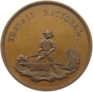 Switzerland / Medal 1848 Travail National - obverse photo