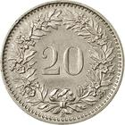 Switzerland / Twenty Centimes (Rappen) 1965 - reverse photo