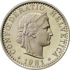 Switzerland / Twenty Centimes (Rappen) 1981 - obverse photo
