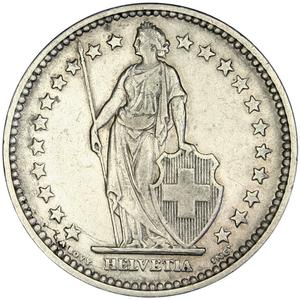 Switzerland / Two Francs 1906 - obverse photo
