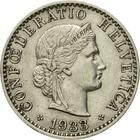 Switzerland / Twenty Centimes (Rappen) 1933 - obverse photo