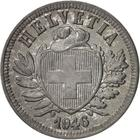 Switzerland / Two Centimes (Rappen) 1946 - obverse photo