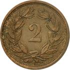 Switzerland / Two Centimes (Rappen) 1937 - reverse photo