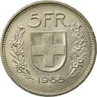 Switzerland / Five Francs 1968 - reverse photo