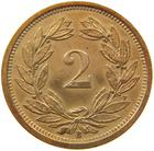 Switzerland / Two Centimes (Rappen) 1929 - reverse photo