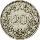 Switzerland / Twenty Centimes (Rappen) 1933 - reverse photo