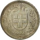 Switzerland / Five Francs 1923 - reverse photo