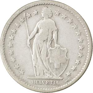 Switzerland / Two Francs 1874 - obverse photo