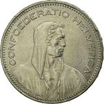 Switzerland / Five Francs 1995 - obverse photo
