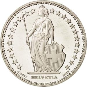 Switzerland / Two Francs - obverse photo