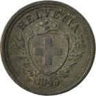 Switzerland / One Centime (Rappen) 1945 - obverse photo