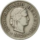 Switzerland / Five Centimes (Rappen) 1921 - obverse photo