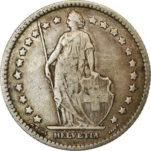 Switzerland / One Franc 1899 - obverse photo