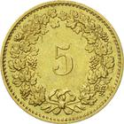 Switzerland / Five Centimes (Rappen) 1985 - reverse photo