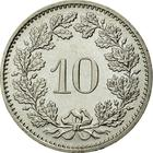 Switzerland / Ten Centimes (Rappen) 1995 - reverse photo