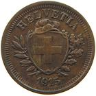 Switzerland / One Centime (Rappen) 1915 - obverse photo