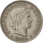Switzerland / Twenty Centimes (Rappen) 1945 - obverse photo