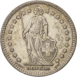 Switzerland / Two Francs 1939 - obverse photo