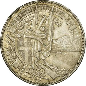 Switzerland / Shooting Thaler 1883 - obverse photo