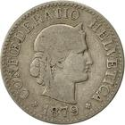 Switzerland / Ten Centimes (Rappen) 1879 - obverse photo