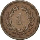 Switzerland / One Centime (Rappen) 1902 - reverse photo