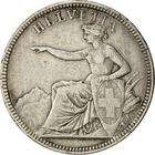 Switzerland / Five Francs 1874 - obverse photo