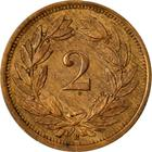 Switzerland / Two Centimes (Rappen) 1930 - reverse photo