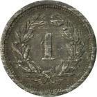 Switzerland / One Centime (Rappen) 1945 - reverse photo