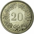Switzerland / Twenty Centimes (Rappen) 1995 - reverse photo