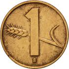 Switzerland / One Centime (Rappen) 1955 - reverse photo