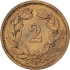 Switzerland / Two Centimes (Rappen) 1934 - reverse photo