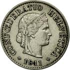 Switzerland / Five Centimes (Rappen) 1911 - obverse photo