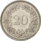 Switzerland / Twenty Centimes (Rappen) 1993 - reverse photo